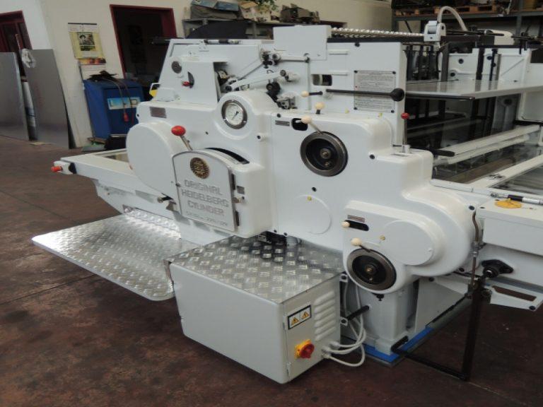 Vendita macchine tipografiche