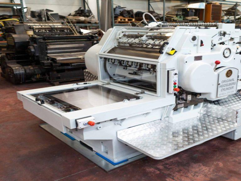 Manutenzione macchine tipografiche