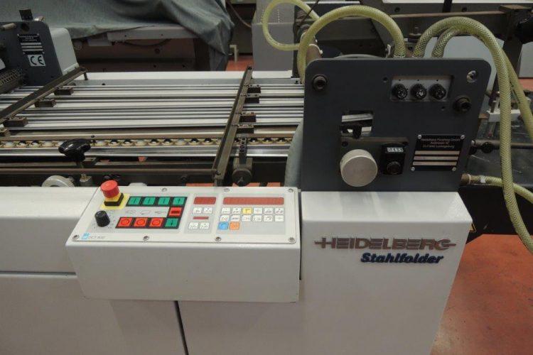 Heidelberg Stahlfolder Fi52