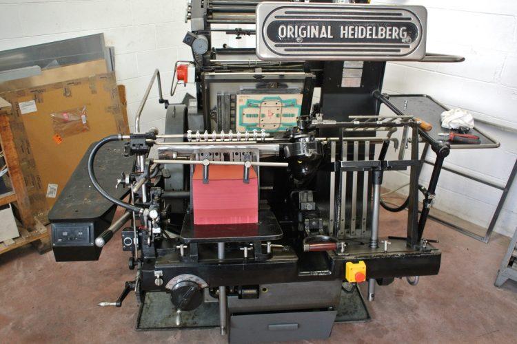 Heidelberg GTP 34×46